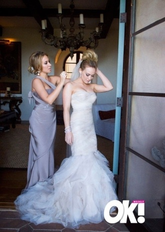 Hillary Duff and Maid of Honor