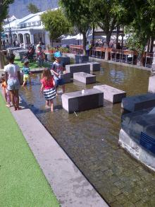 Waterfront Water Feature