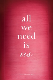 All we need is us