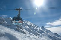 Mount Titlis revolving cable car