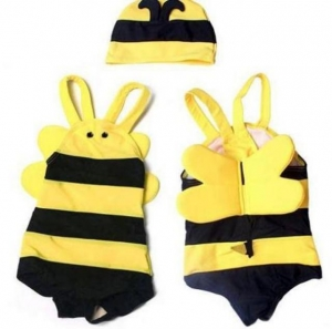 Noo Wear Bumble Bee Swimming Costume