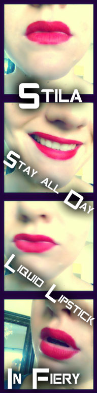 Stila Stay all Day Liquid Lipstick Fiery