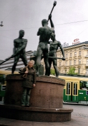 Helsinki sculpture