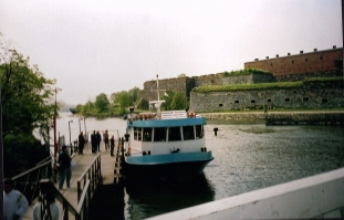 The boat at Suomenlinna