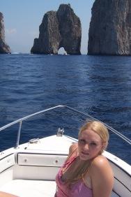 The famous Faraglioni rock arches