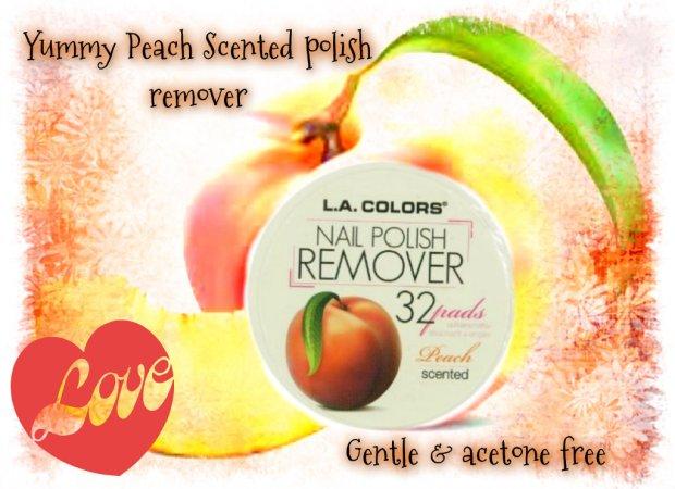 LA Colours Nail Polish Remover Pads