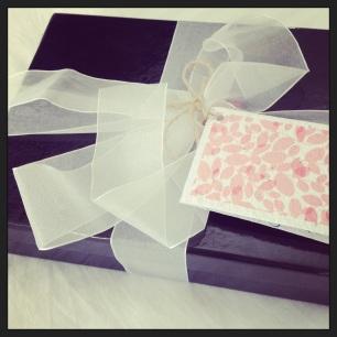 The beautiful packaging