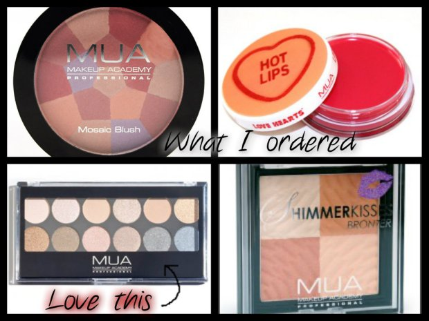 My Order from MUA
