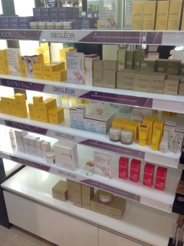 The Decleor Stand