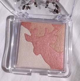 The three shades in the palette