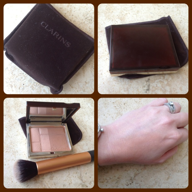 Clarins Bronzing Duo Collage
