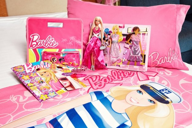 A Barbie Stateroom