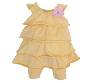 Pure Tiered Dress Set R439