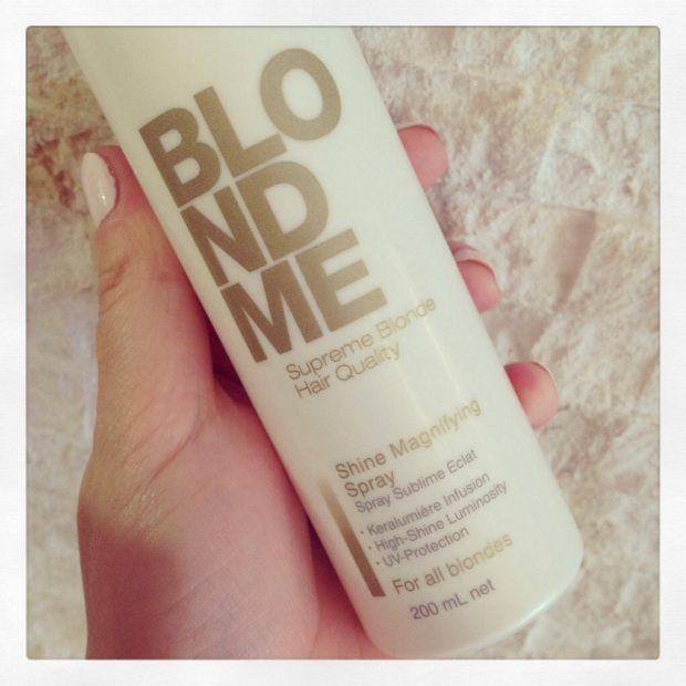 Schwarzkopf BlondeMe Shine Spray
