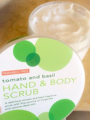 hand & body scrub