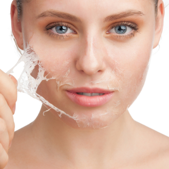 Try Clinique Mild Clarifying Lotion (R190), Clarins Gentle Exfoliator Brightening Toner (R365), Paula's Choice Skin Perfecting 2% BHA Liquid Exfoliant (R420), Dermaceutic Foamer 15, REN Glycolactic Radiance Renewal Mask (R540)