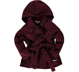 Wine Trench Coat R650